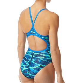 TYR Lambent Diamondfit Swimsuit Women, blue/green